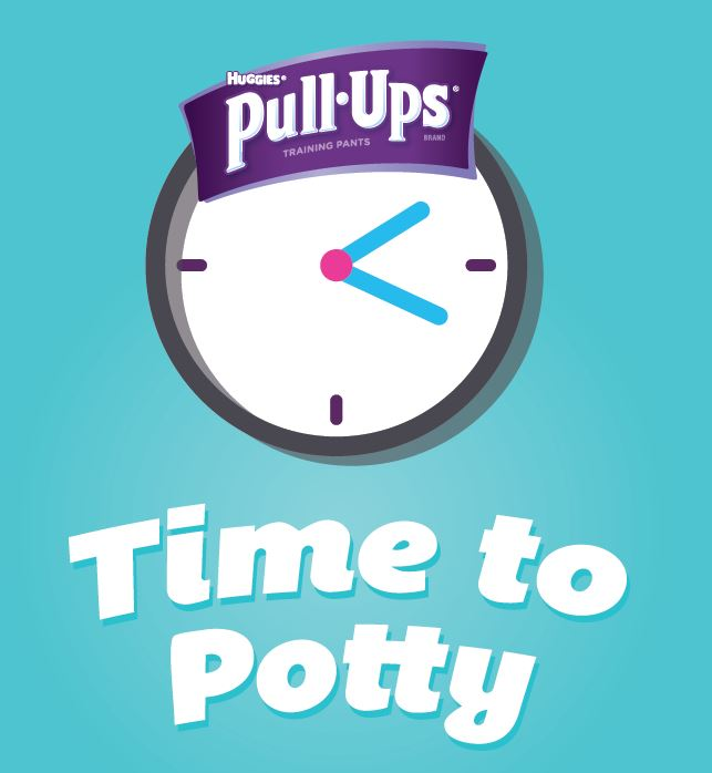 The Pull-Ups Time to Potty App + Potty Training the First Child versus the Third Child at B-Inspired Mama
