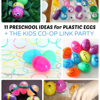 Fun Preschool Easter Activities using Plastic Eggs