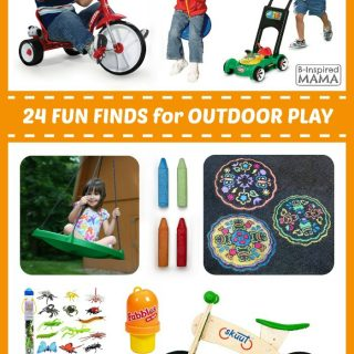 24 Fun Finds to Make Your Kids' Outdoor Play AWESOME!