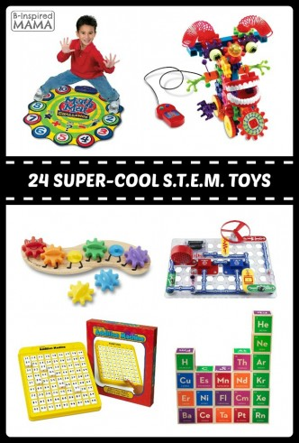 24 of The BEST STEM Toys for Kids - Fun Finds Friday - B-Inspired Mama