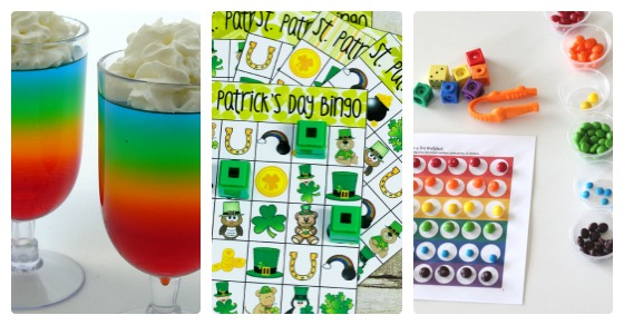 Mixed Mama Paralyzed Heals Coloring Page: St. Patrick's Day Playdate Ideas + The Kids Co-Op Link Party