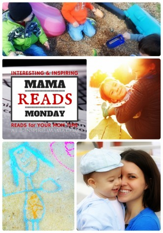 The Mama Reads Monday Link Party - Encouraging Reads for Busy and Weary Moms at B-Inspired Mama