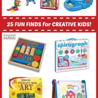 25 Fun Finds for Creative Kids - Fun Finds Friday at B-Inspired Mama