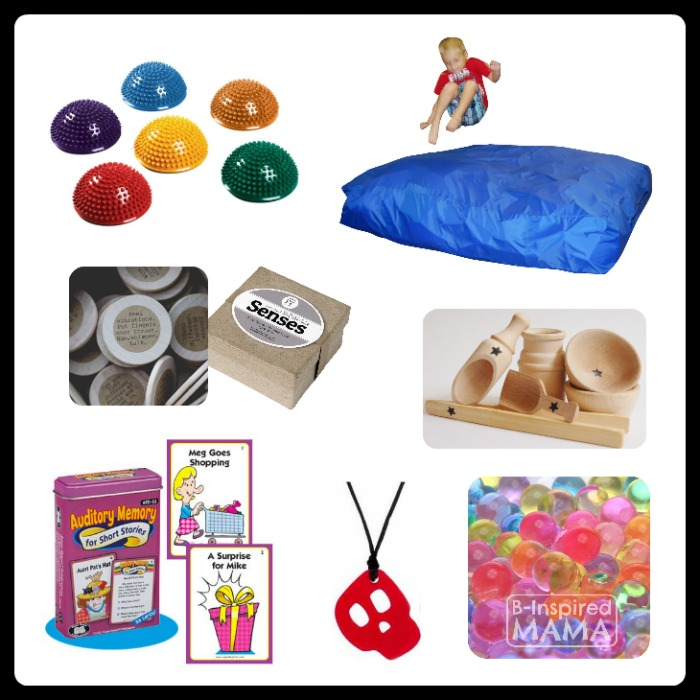 27 Fun Finds for Your Child's Sensory Diet - Fun Finds Friday - B-Inspired Mama
