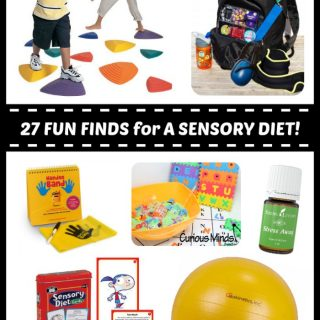 27 Fun Finds for Your Child's Sensory Diet