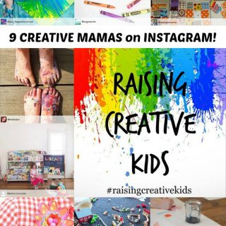9 Creative Kids and Mamas to Follow on Instagram + The New RaisingCreativeKids Instagram Initiative at B-Inspired Mama