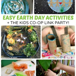 9 Easy Earth Day Activities + The Kids Co-Op Link Party