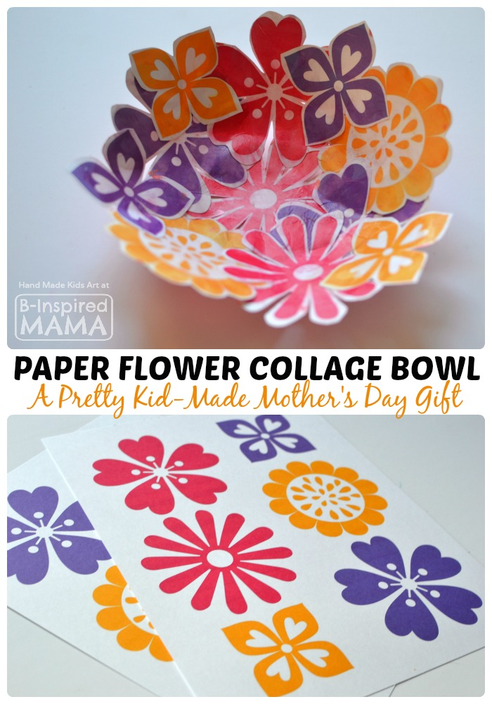mothers day ideas crafts a pretty paper flower bowl s day craft for 5004