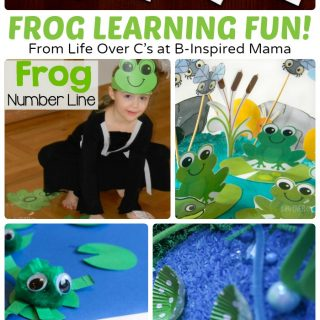 Frog and Lilypad Printable Alphabet Activity Cards + More Frog Activities!