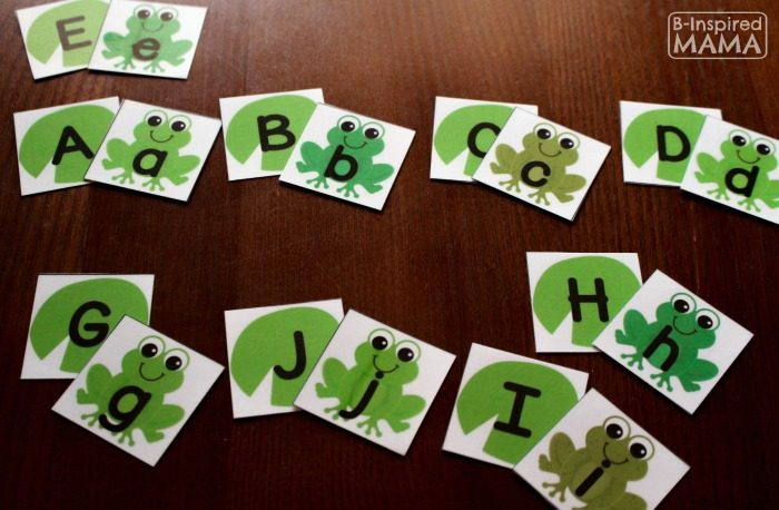 Fun & Free Frog Printable Alphabet Activity Cards