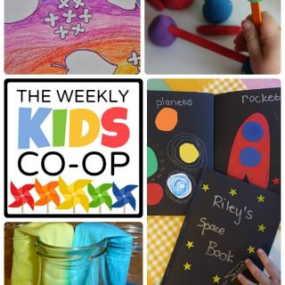 New Fun Activities for Kids Each Thursday at The Kids Co-Op Link Party at B-Inspired Mama