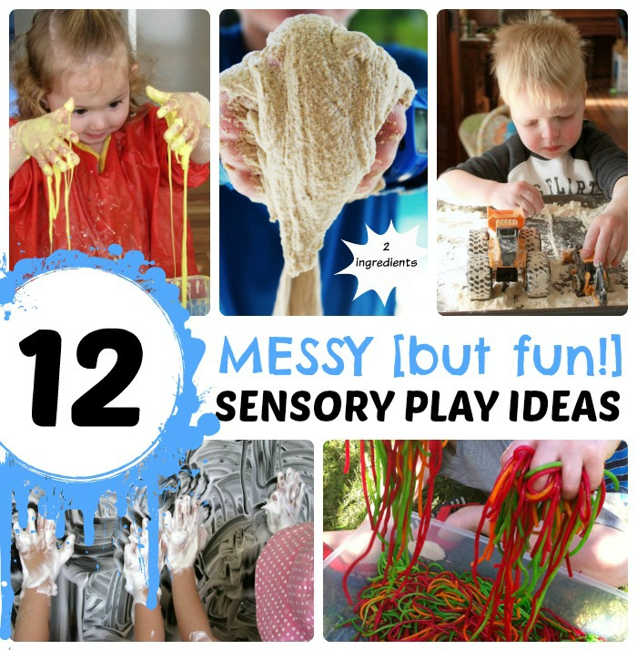 12 Messy Sensory Play Ideas for Kids - Totally Worth the Mess!