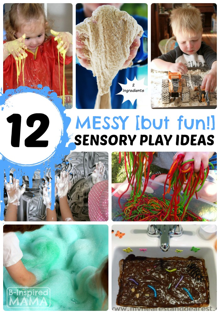 12 Messy Sensory Play Ideas - Totally Worth the Mess!