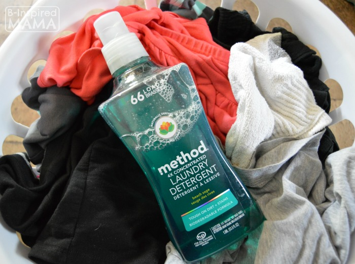 The Simple Laundry Tip That Changed My Life - Plus our New method Laundry Detergent - B-Inspired Mama