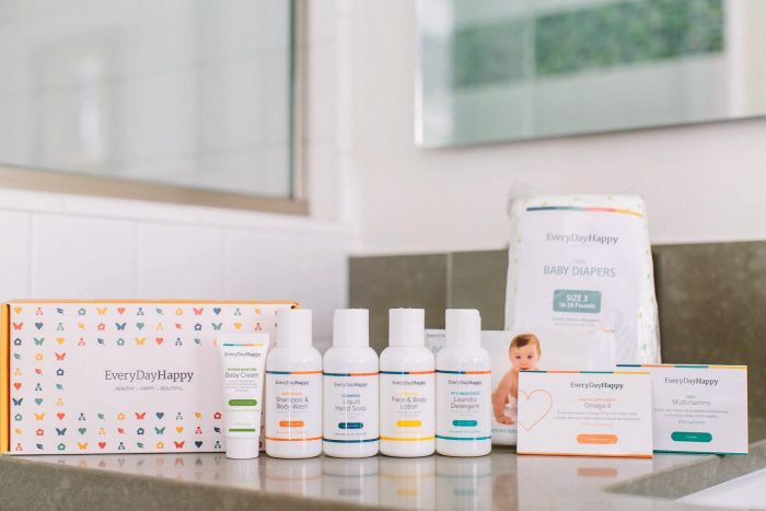 Sign up for a FREE Trial Kit of EverydayHappy Bath and Home Products!