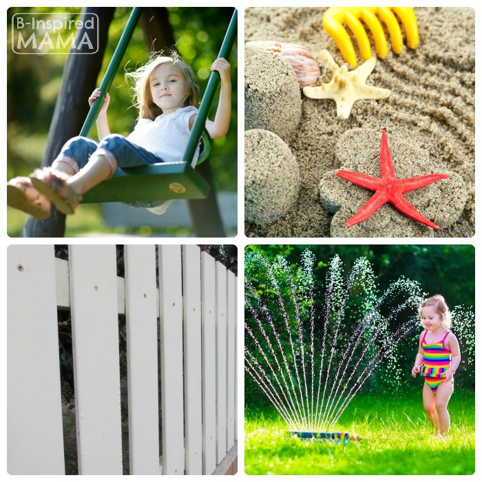 Essentials for a Kid-Friendly Backyard - an eBay Guide from B-Inspired Mama