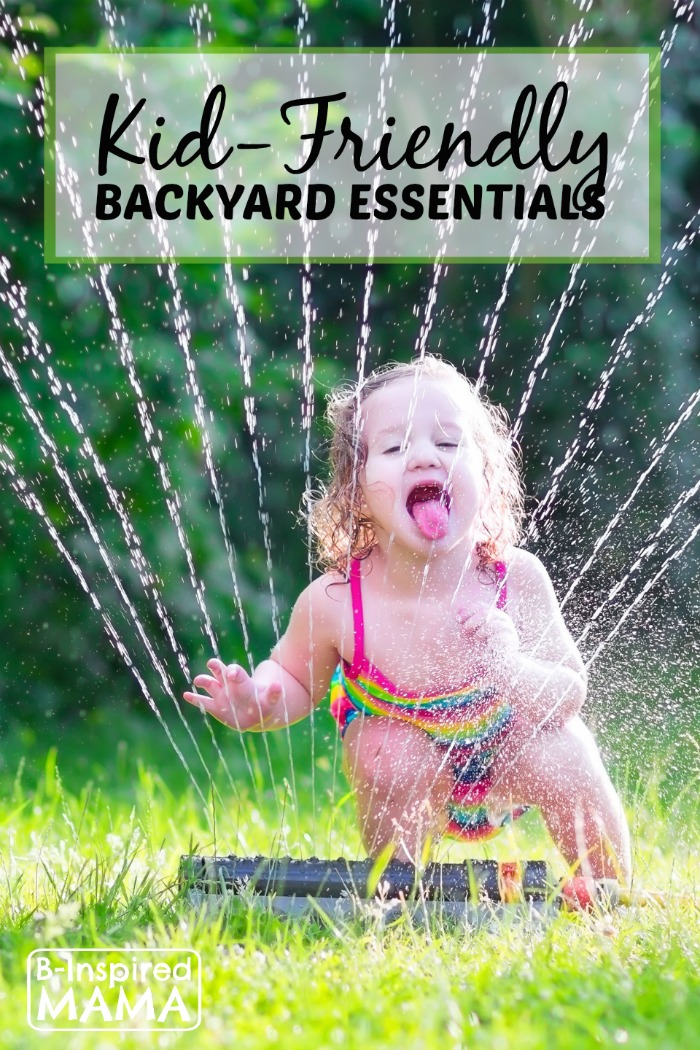 Essentials for a Kid-Friendly Backyard from eBay and B-Inspired Mama