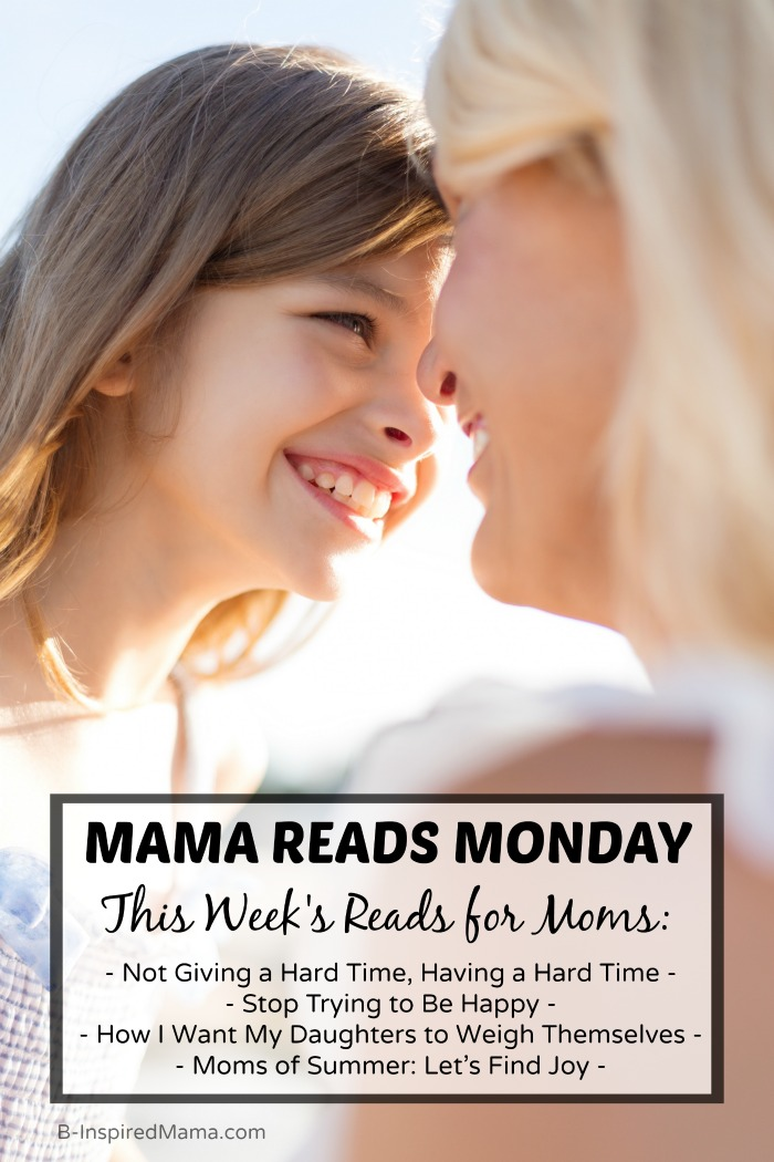 Mama Reads Monday - Encouraging Reads for Busy Moms