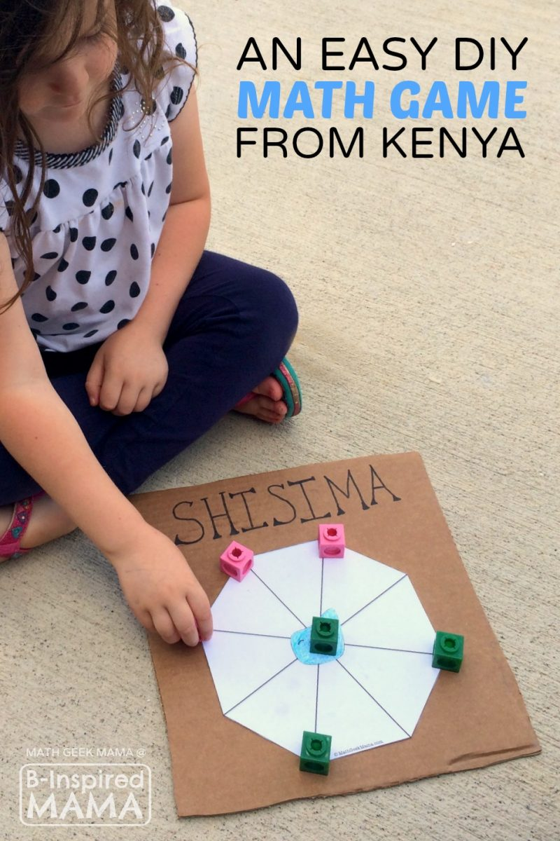 Shisima - An Easy & Cool Math Game from Kenya - at B-Inspired Mama