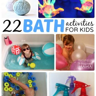 22 Kids Activities to Make Bath Time Fun!