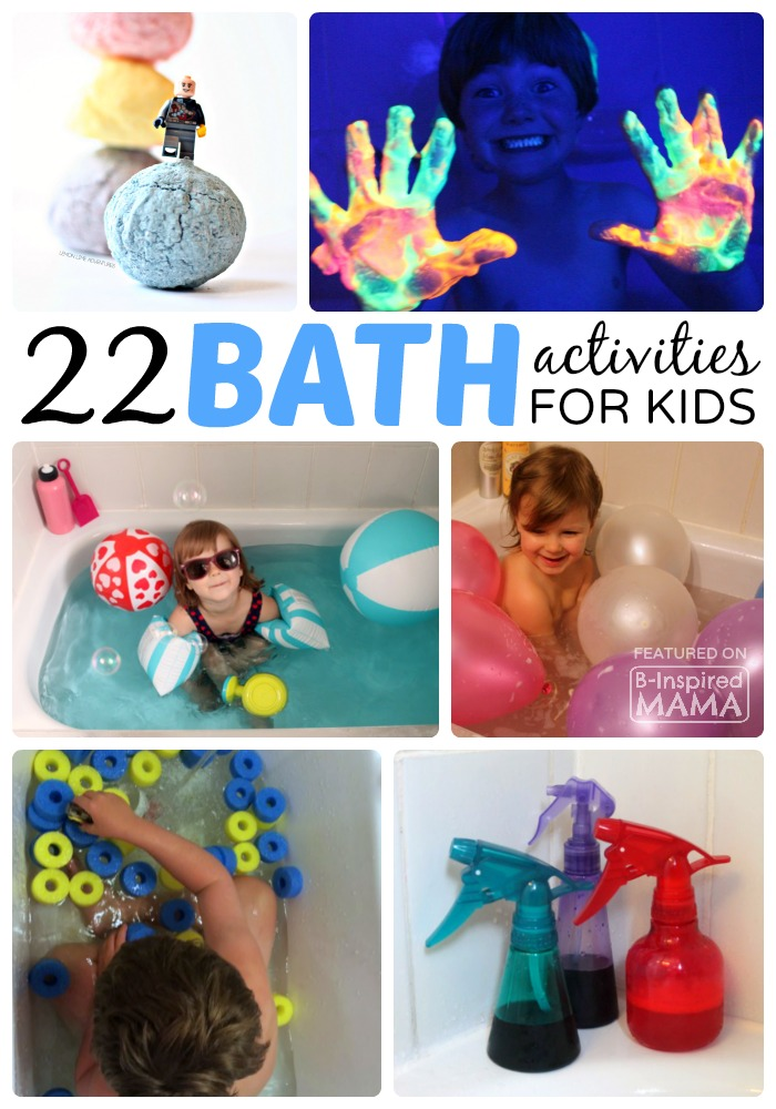 22 Clever Kids Bath Activities - Your Cranky Toddler Will LOVE!