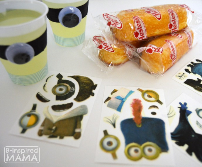 A Fun Kids Snack Full of Minions - With a Hostess Twinkie Minions Kit at B-Inspired Mama