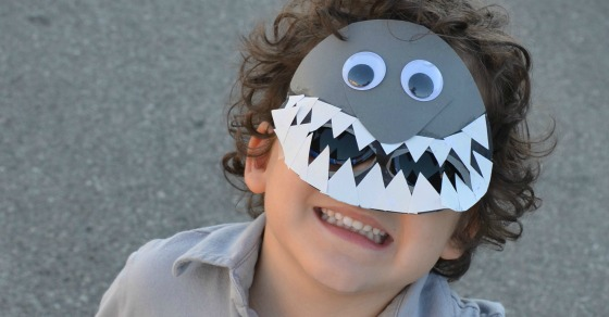 Super Cool Shark Mask Craft For Kids