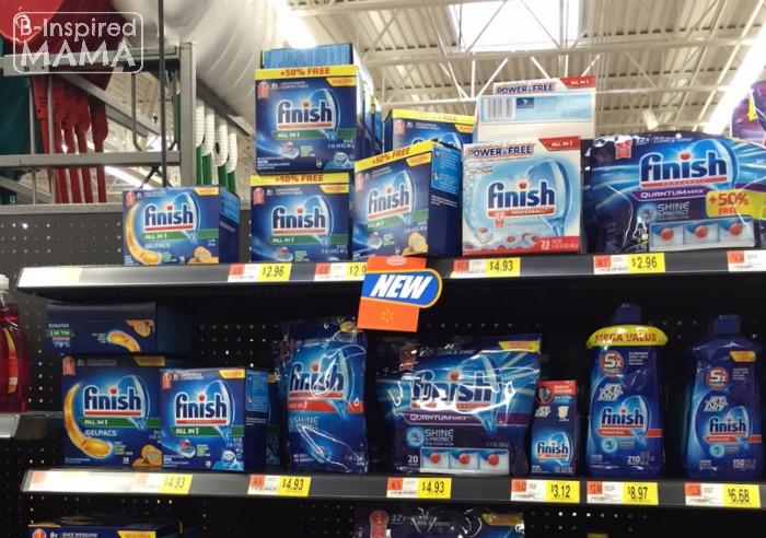 Finish at Walmart + 6 Kitchen Chores for Kids at B-Inspired Mama