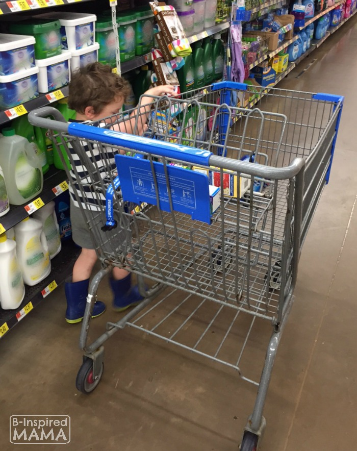 Shopping for Finish at Walmart + 6 Kitchen Chores for Kids at B-Inspired Mama