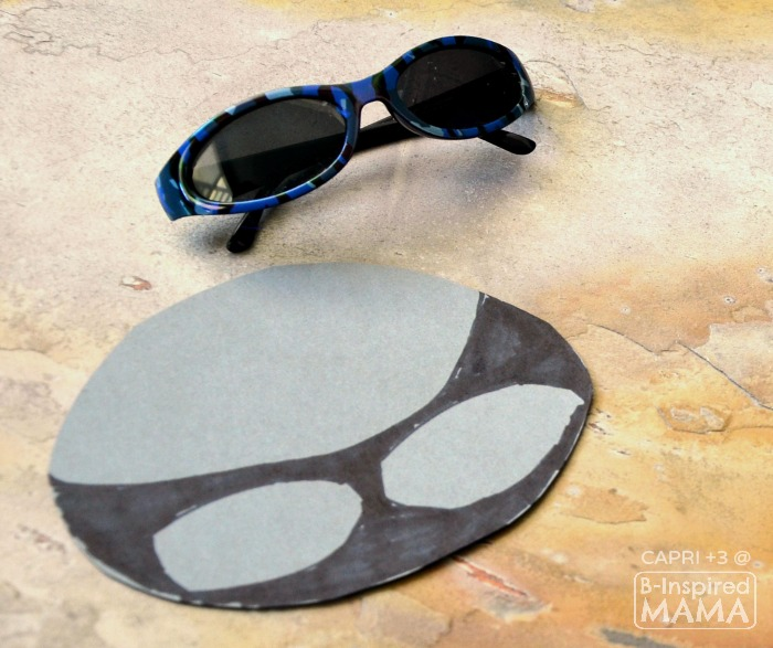 Super Cool Shark Mask Craft for Kids - Drawing the Shark Face - at B-Inspired Mama