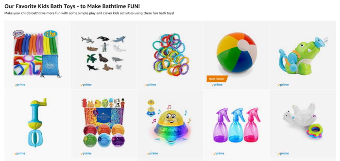 Our Favorite Kids Bath Toys - in the B-Inspired Mama Amazon Shop!
