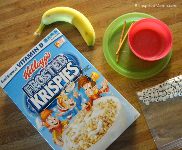 A Silly Cereal Snail to Make Breakfast Fun for the Kids - Ingredients - B-Inspired Mama
