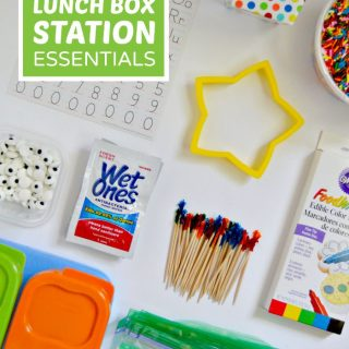 Our 13 Lunch Box Station Essentials - at B-Inspired Mama