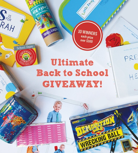 The Ultimate Back to School Giveaway - at B-Inspired Mama