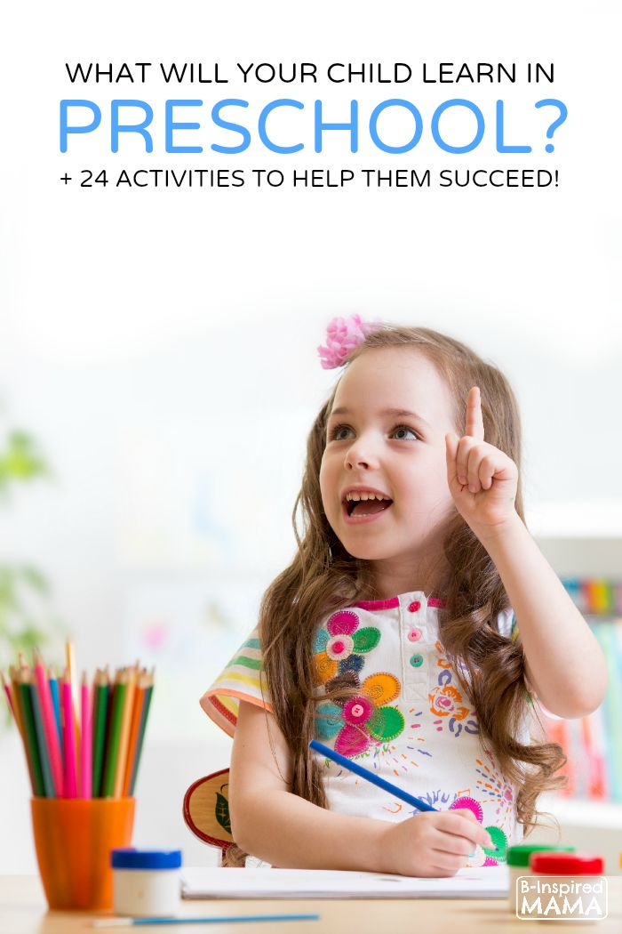 What Do Kids Learn In Preschool? + 24 Activities, Too