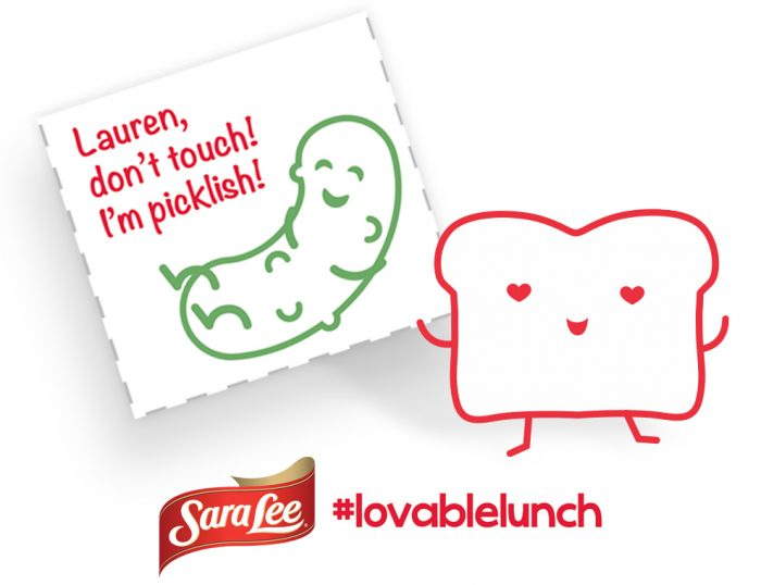 Sara Lee Printable Loveable Lunch Notes + 15 Fun Lunch Box Ideas at B-Inspired Mama