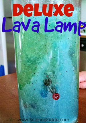 Lava Lamp Science Experiment