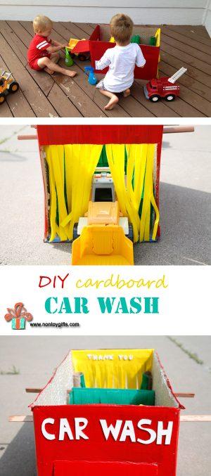 DIY Car Wash Toy for Kids