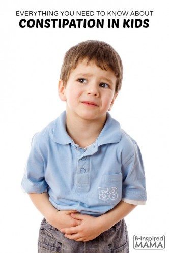 Everything You Need to Know About Constipation in Kids - at B-Inspired Mama