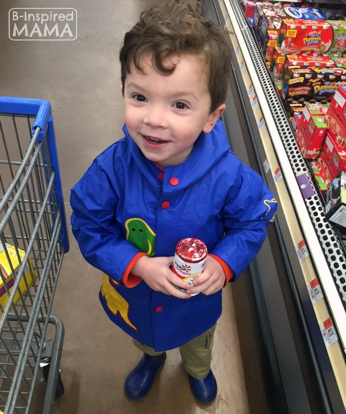 Easy No Bake Apple Crisp Snack - JC Helping Me Shop for Yoplait Yogurt - B-Inspired Mama