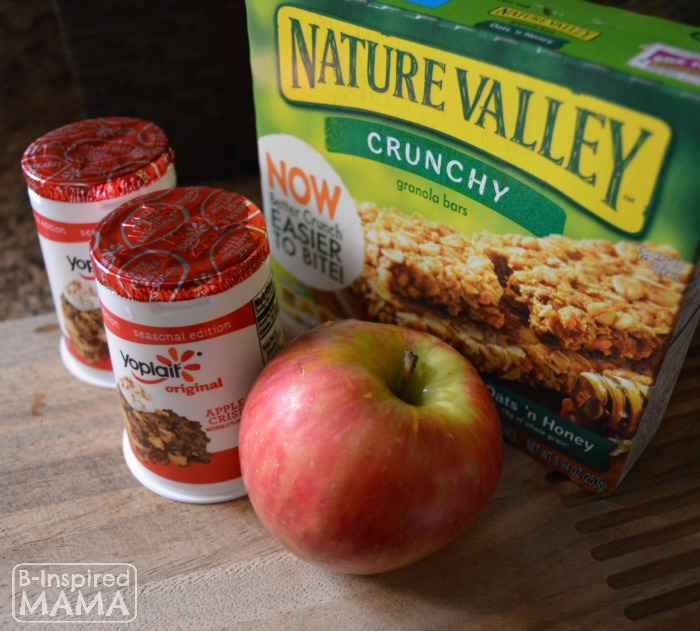 Easy No Bake Apple Crisp Snack - Only 3 Ingredients - B-Inspired Mama