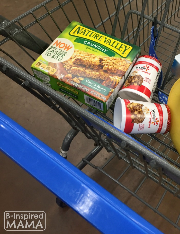 Easy No Bake Apple Crisp Snack - Shopping for Yoplait Yogurt - B-Inspired Mama