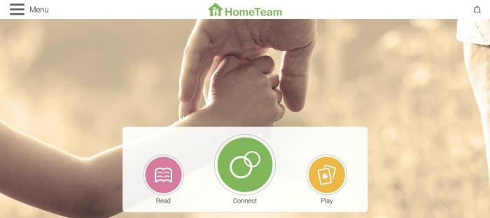 Helping Children of Divorce Connect with Dad When Apart - The HomeTeam App to Connect Virtually - at B-Inspired Mama