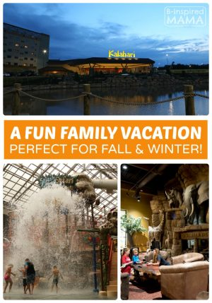 Our Cold Weather Family Vacation Solution - Indoor Water Parks and Why We Love Them at B-Inspired Mama