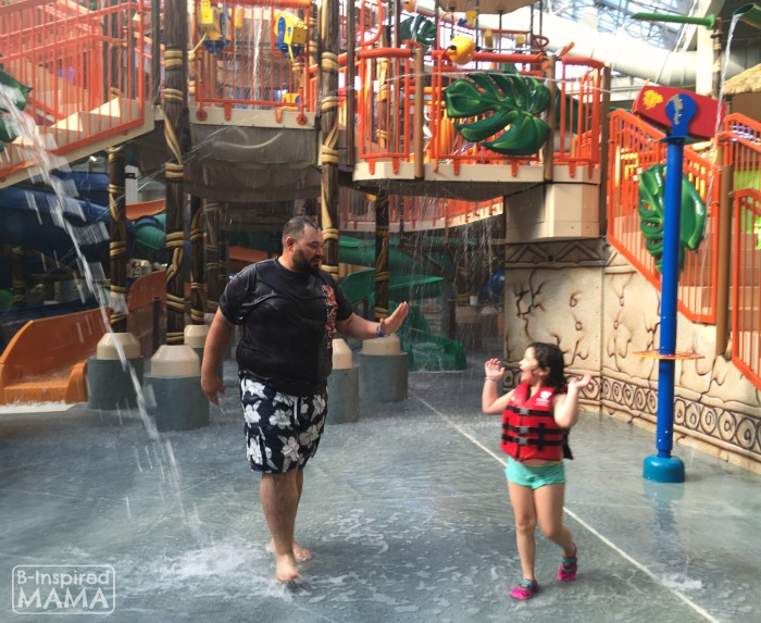 Our Kalahari Indoor Water Park Adventure - Cliff and Sis - at B-Inspired Mama