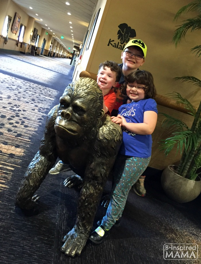 Our Kalahari Indoor Water Park Adventure - My Monkeys on a Gorilla - at B-Inspired Mama