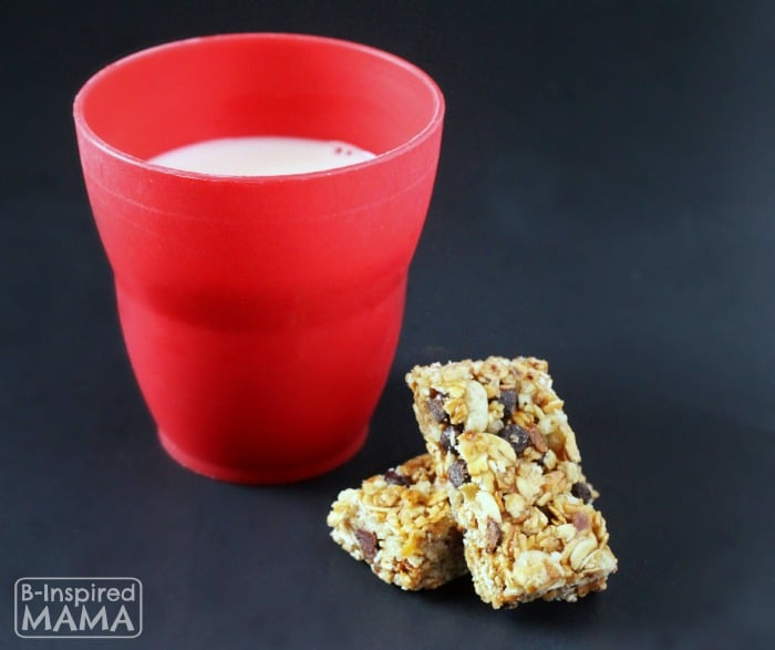 Perfect Kids Snacks to Pair with Milk - Granola Bar - B-Inspired Mama