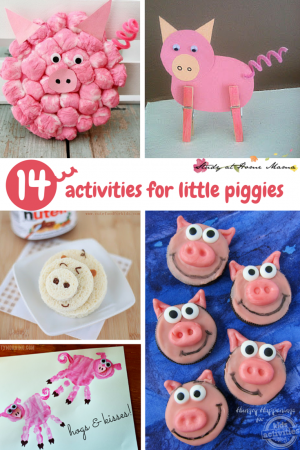 14 Kids Activities for The Little Pigs