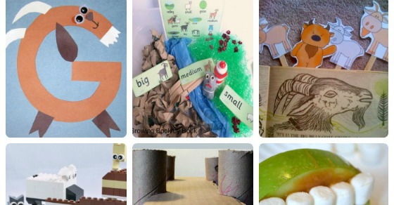 20 Kids Activities for Exploring The 3 Billy Goats Gruff