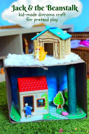 Jack and the Beanstalk Diorama Craft